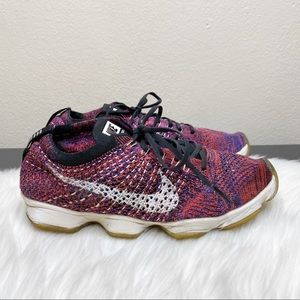 Nike Flyknit Zoom Agility Running Shoes